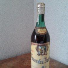 Coleccionismo de vinos y licores: COÑAC SAAVEDRA FAJARDO-PRECINTO-ANOS 70-80. Lote 55802609