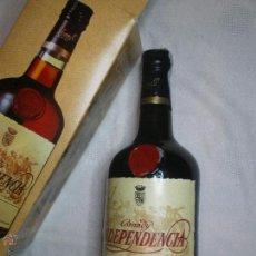 Coleccionismo de vinos y licores: LOTE 1 BOTELLA NUEVA EN SU CAJA ORIGINAL BRANDY INDEPENDENCIA AÑOS 80. Lote 55802746