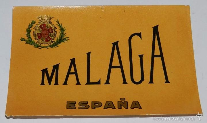 ETIQUETA VINO MALAGA, ESPAÑA,- MEDIDA 12,5 X 9 CMS. (Coleccionismo - Botellas y Bebidas - Vinos, Licores y Aguardientes)