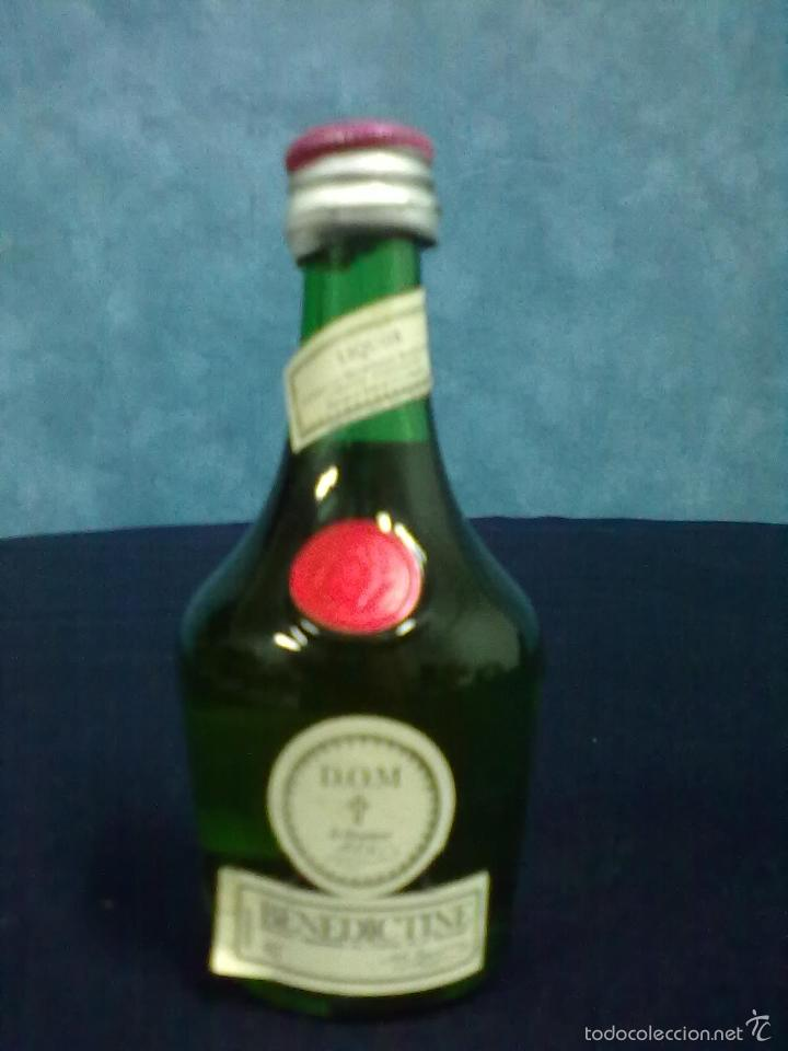 BOTELLIN BENEDICTINE (Coleccionismo - Botellas y Bebidas - Vinos, Licores y Aguardientes)