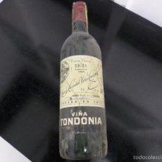 Coleccionismo de vinos y licores: VIÑA TONDONIA 1985 UNA BOTELLA. Lote 56796196