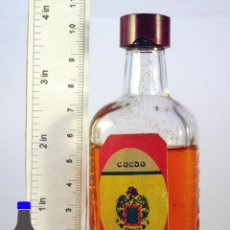 Coleccionismo de vinos y licores: BOTELLITA BOTELLIN CACAO LICORES ORTE MADRID. Lote 56974941
