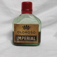 Coleccionismo de vinos y licores: ANTIGUA BOTELLA PETACA OLOROSO IMPERIAL, SIN ABRIR,. Lote 57117918