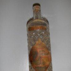 Coleccionismo de vinos y licores: BOTELLA DE ANIS LOHENGRIN, MOMPO Y BERNABEU, JATIVA. DESTILERIA VALENCIANA.. Lote 57262851