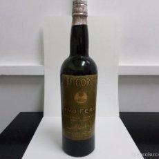 Coleccionismo de vinos y licores: BOTELLA DUFF GORDON SHERRY Nº 2070. Lote 57326191