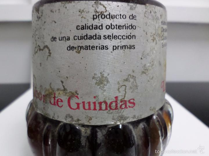 Coleccionismo de vinos y licores: BOTELLA LICOR DE GUINDAS MIURA - Foto 4 - 57326368