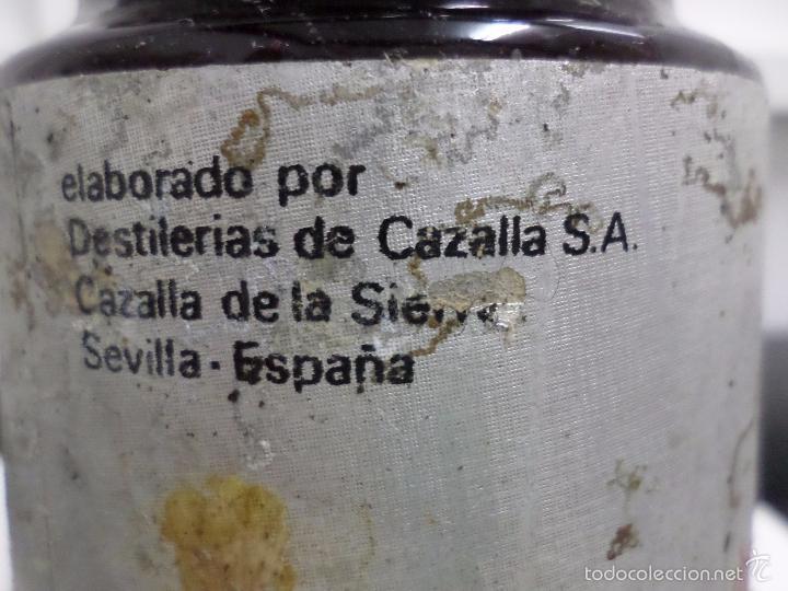 Coleccionismo de vinos y licores: BOTELLA LICOR DE GUINDAS MIURA - Foto 5 - 57326368