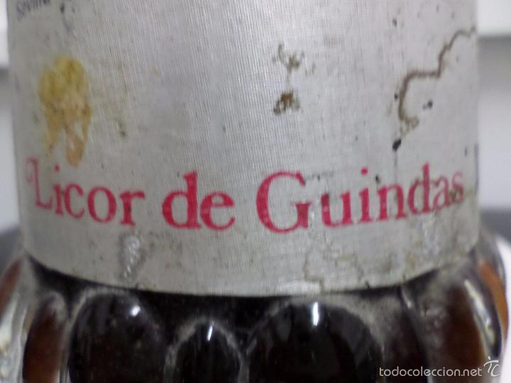 Coleccionismo de vinos y licores: BOTELLA LICOR DE GUINDAS MIURA - Foto 6 - 57326368