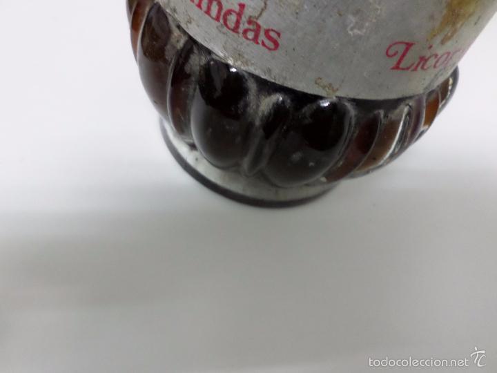 Coleccionismo de vinos y licores: BOTELLA LICOR DE GUINDAS MIURA - Foto 13 - 57326368