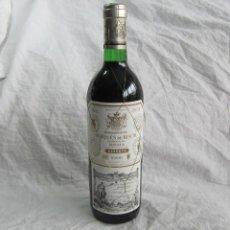 Coleccionismo de vinos y licores: BOTELLA DE VINO RESERVA DE RIOJA MARQUÉS DE RISCAL 1995. Lote 194784703