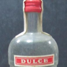 Coleccionismo de vinos y licores: BOTELLA DE ANIS DULCE. ANISADO SELECTO. J. RUIZ & Cª. JEREZ. 1 LITRO. 30,5 CM DE ALTO.. Lote 57580690