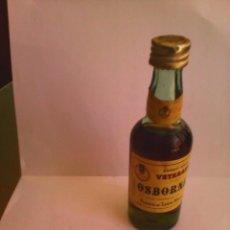 Coleccionismo de vinos y licores: BOTELLIN BRANDY VIEJO VETERANO OSBORNE.. Lote 57969892