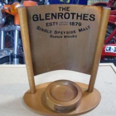 Coleccionismo de vinos y licores: EXPOSITOR WHISKY THE GLENROTHES. Lote 58098116