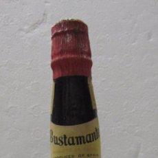 Coleccionismo de vinos y licores: BOTELLA DE VINO JEREZ AÑEJO SEMIDULCE. FRAGATA. EAST INDIA SHERRY. JOSÉ BUSTAMANTE. JEREZ.. Lote 58152766