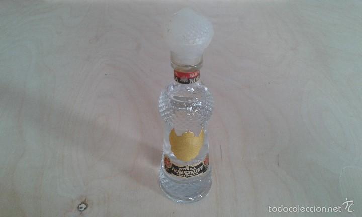PRECIOSO BOTELLIN CRISTAL -- KORSAKOFF -- WODKA -- SIN ABRIR -- (Coleccionismo - Botellas y Bebidas - Vinos, Licores y Aguardientes)