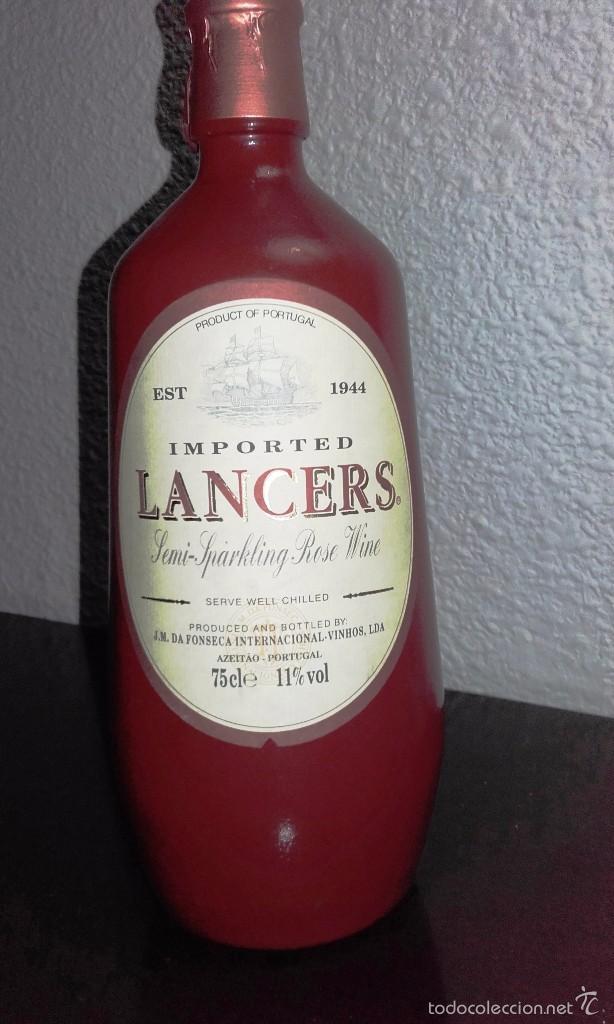 VINO LANCERS ROSÉ SEMI-ESPUMOSO - VINO PORTUGUÉS (Coleccionismo - Botellas y Bebidas - Vinos, Licores y Aguardientes)