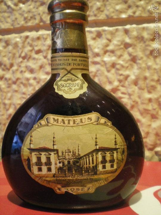 BOTELLA MATEUS. SOGRAPE. VINHOS DE PORTUGAL. ROSE WINE (Coleccionismo - Botellas y Bebidas - Vinos, Licores y Aguardientes)