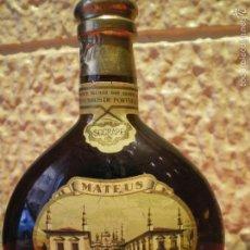 Coleccionismo de vinos y licores: BOTELLA MATEUS. SOGRAPE. VINHOS DE PORTUGAL. ROSE WINE. Lote 59722511