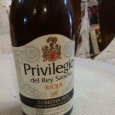 Coleccionismo de vinos y licores: PRIVILEGIO DEL REY SANCHO COSECHA 1975 RIOJA PEDRO DOMECQ. Lote 210624326