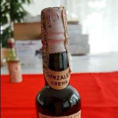 Coleccionismo de vinos y licores: F 1668 BOTELLIN DE GONZALEZ BYASS, FINE OLOROSO CREAM SHERRY. Lote 60718891