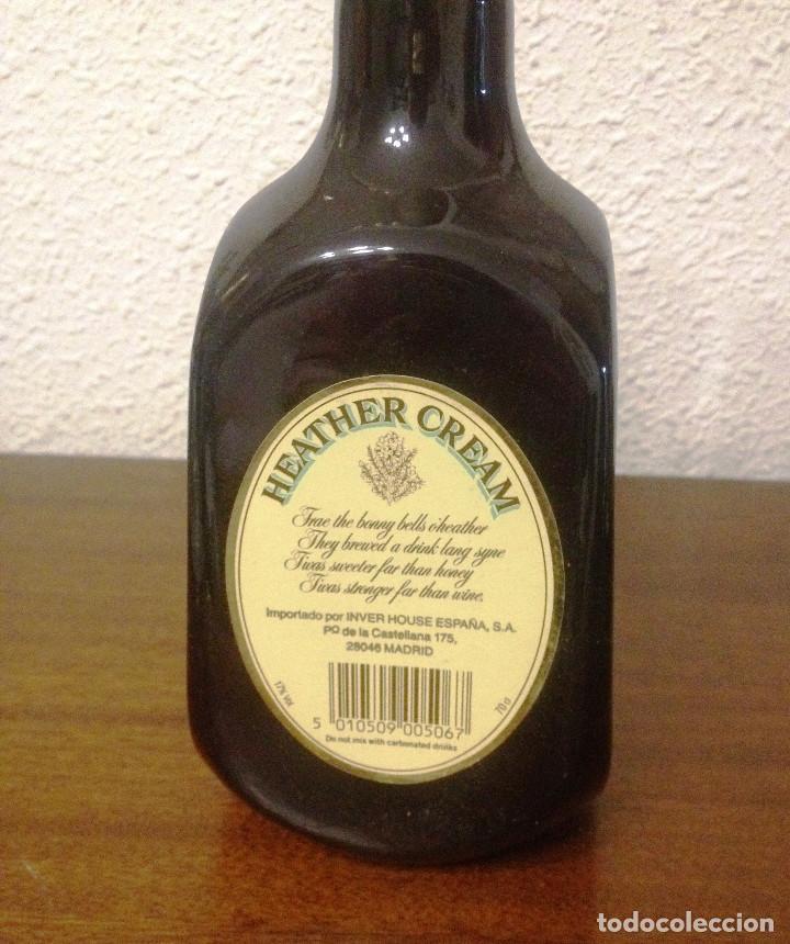 Coleccionismo de vinos y licores: whisky. Heather cream scotch whisky original- años 70-80- Intacto- - Foto 3 - 61703240