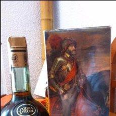 Coleccionismo de vinos y licores: BOTELLA DE BRANDY SOLERA ESPECIAL CARLOS I, PRECINTO 4 PTS. Lote 61970176