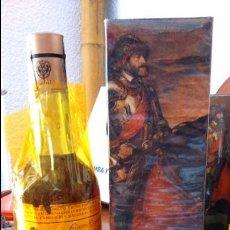 Coleccionismo de vinos y licores: BOTELLA DE BRANDY SOLERA ESPECIAL CARLOS I, PRECINTO 4 PTS. Lote 61970740