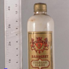 Coleccionismo de vinos y licores: BOTELLITA BOTELLIN CURACAO BLANC BORDEAUX BARDINET. Lote 62105076
