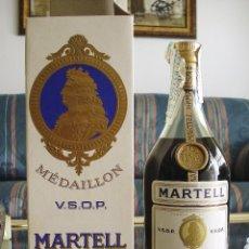 Coleccionismo de vinos y licores: COÑAC MARTELL MEDAILLON AÑOS 60. Lote 62475332