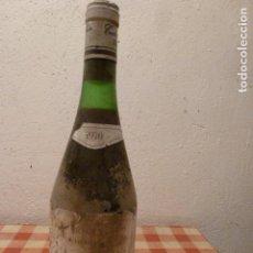 Coleccionismo de vinos y licores: BOTELLA DE VINO CARTA PLATA 1970. Lote 62664052