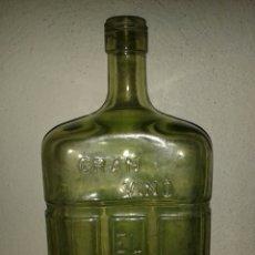 Coleccionismo de vinos y licores: BOTELLA VERDE VINO EL COLOSO BACARLÉS. Lote 64356611