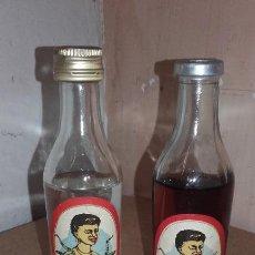 Coleccionismo de vinos y licores: LOTE DE 2 BOTELLITA BOTELLA RON JAMAICA - SELGA TORRAS MANRESA - SIN ABRIR. Lote 65074587