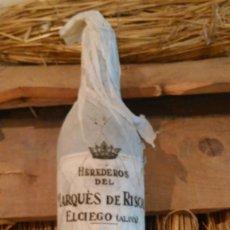 Coleccionismo de vinos y licores: BOTELLA DE VINO MARQUÉS DE RISCAL 1951.PRECINTADA A ESTRENAR. Lote 218870555