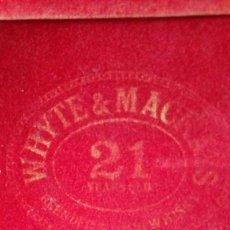 Coleccionismo de vinos y licores: WHYTE & MACKAY 21 YEAR OLD - 1970S (75CL, 43%). Lote 68342837