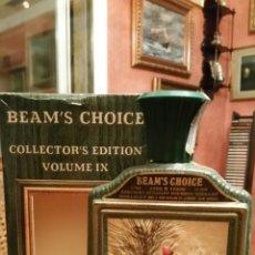 Coleccionismo de vinos y licores: BOTELLA BEAM'S CHOICE. BOURBON. CON CAJA ORIGINAL.. Lote 68676874