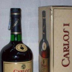 Coleccionismo de vinos y licores: BRANDY CARLOS I . SOLERA ESPECIAL. Lote 69374713