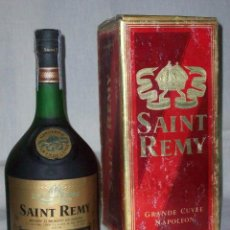 Coleccionismo de vinos y licores: BRANDY SAINT REMY. GRANDE CUVEE NAPOLEON. Lote 69391097