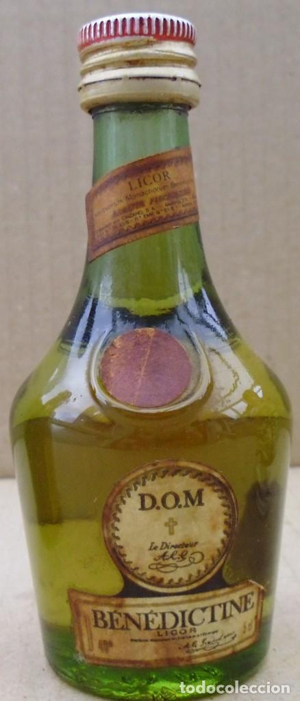 BOTELLIN BENEDICTINE SIN ABRIR (Coleccionismo - Botellas y Bebidas - Vinos, Licores y Aguardientes)