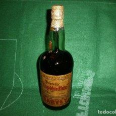 Coleccionismo de vinos y licores: BOTELLA ANTIGUA BRANDY ESPLENDIDO BODEGAS DE SAN PATRICIO JEREZ GARVEY . Lote 70919657