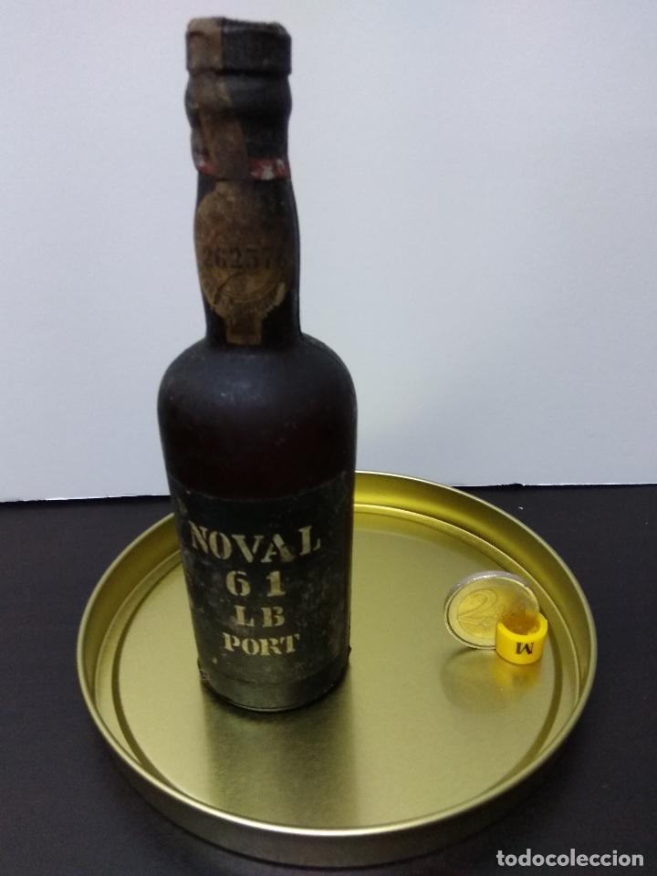 BOTELLIN NOVAL 61 LB PORT SIN ABRIR (Coleccionismo - Botellas y Bebidas - Vinos, Licores y Aguardientes)