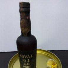 Coleccionismo de vinos y licores: BOTELLIN NOVAL 61 LB PORT SIN ABRIR. Lote 71198841
