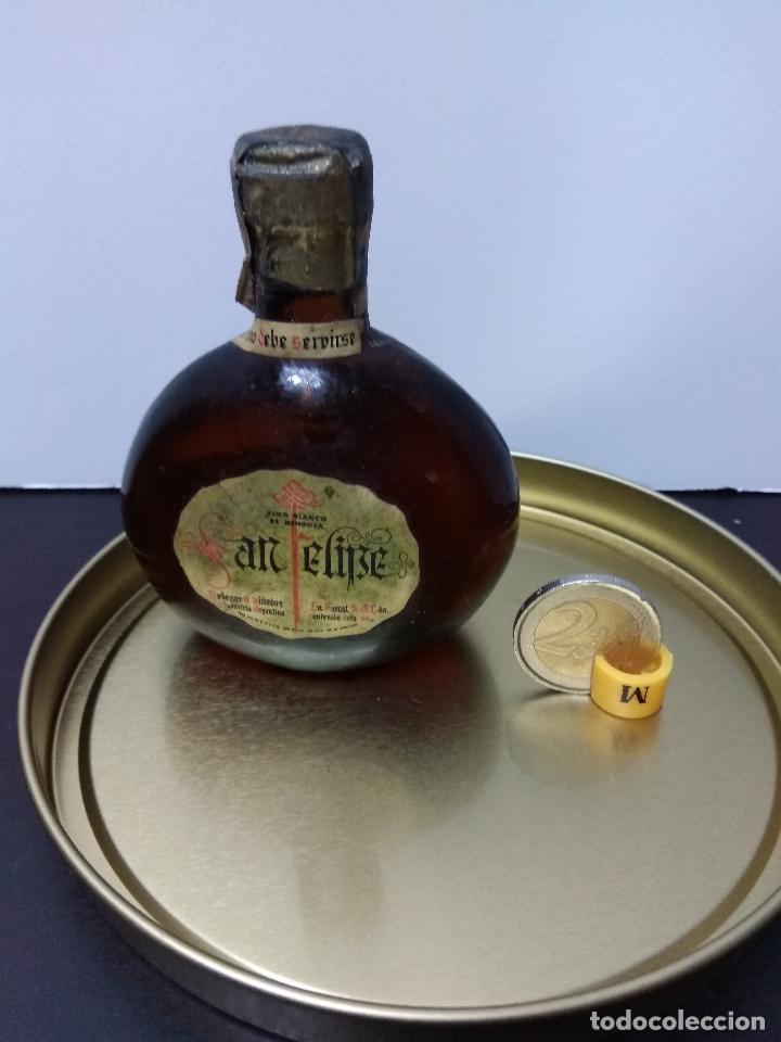 BOTELLIN SIN ABRIR VINO BLANCO SAN FELIPE ARGENTINA (Coleccionismo - Botellas y Bebidas - Vinos, Licores y Aguardientes)