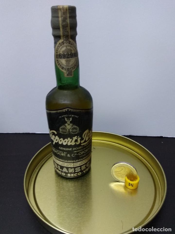BOTELLIN VINO BLANCO NIEPOORT´S PORT SIN ABRIR (Coleccionismo - Botellas y Bebidas - Vinos, Licores y Aguardientes)