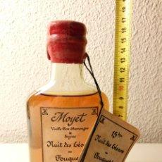 Coleccionismo de vinos y licores: EDICION NUMERADA: VIEILLE FINE CHAMPAGNE DE COGNAC MOYET. FOUQUET'S 1990. COÑAC FRANCÉS. Lote 71934127