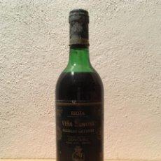 Coleccionismo de vinos y licores: BOTELLA DE VINO / WINE BOTTLE VIÑA RAMONA RESERVA 1982. Lote 72392342