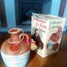 Coleccionismo de vinos y licores: WISKY OF YE MONKS DE LUXE. Lote 72997619