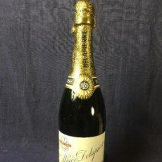Coleccionismo de vinos y licores: BOTELLA CAVA ALFREDO DELAPIERRE COSECHA EXTRA CARTA BLANCA SIN ABRIR PRECINTO 791162 32X9CMS. Lote 78044985