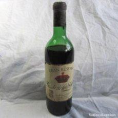 Coleccionismo de vinos y licores: BOTELLA DE VINO CONDE DE LOS ANDES FEDERICO PATERNINA GRAN RESERVA RIOJA. Lote 79651781