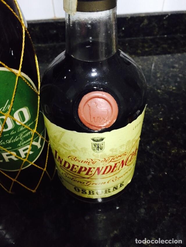 Coleccionismo de vinos y licores: Lote de 3 botellas de brandi - Foto 4 - 80044794