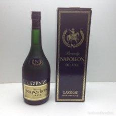Coleccionismo de vinos y licores: BRANDY NAPOLEON V.S.O.P LAZENAY CON CAJA ORIGINAL AÑOS 80. Lote 80736586
